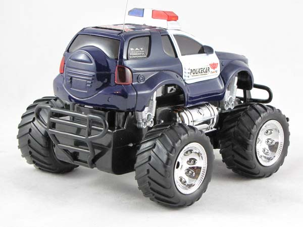 rc ferngesteuertes polizei auto polizeiauto led 601107 ebay. Black Bedroom Furniture Sets. Home Design Ideas