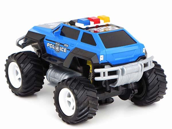 rc ferngesteuertes polizei auto polizeiauto monstertruck. Black Bedroom Furniture Sets. Home Design Ideas