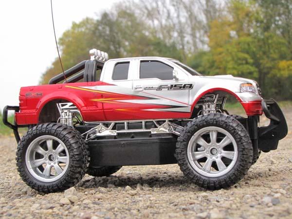 rc ferngesteuertes auto pick up monster truck monstertruck. Black Bedroom Furniture Sets. Home Design Ideas