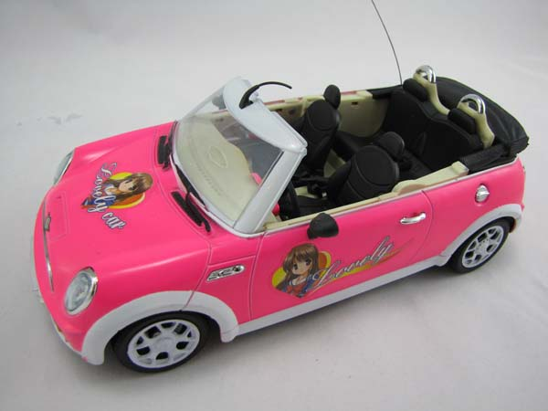 rc ferngesteuertes auto cabrio super design mit musik. Black Bedroom Furniture Sets. Home Design Ideas