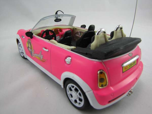 rc ferngesteuertes auto super design barbie cabrio mit. Black Bedroom Furniture Sets. Home Design Ideas