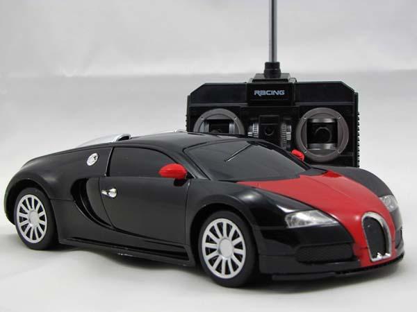 rc ferngesteuertes auto mit metall karosserie neuheit ebay. Black Bedroom Furniture Sets. Home Design Ideas