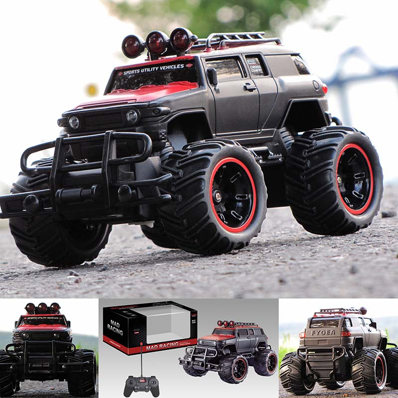 rc ferngesteuertes auto monstertruck truck car 22 cm lang. Black Bedroom Furniture Sets. Home Design Ideas