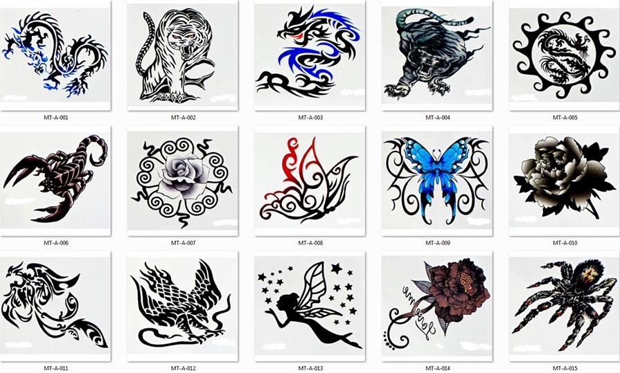 Einmal tattoo chinesische zeichen drachen tattoos tätowierung wtb006